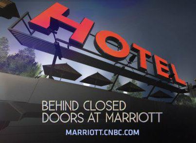 Behind Closed Doors at Marriott